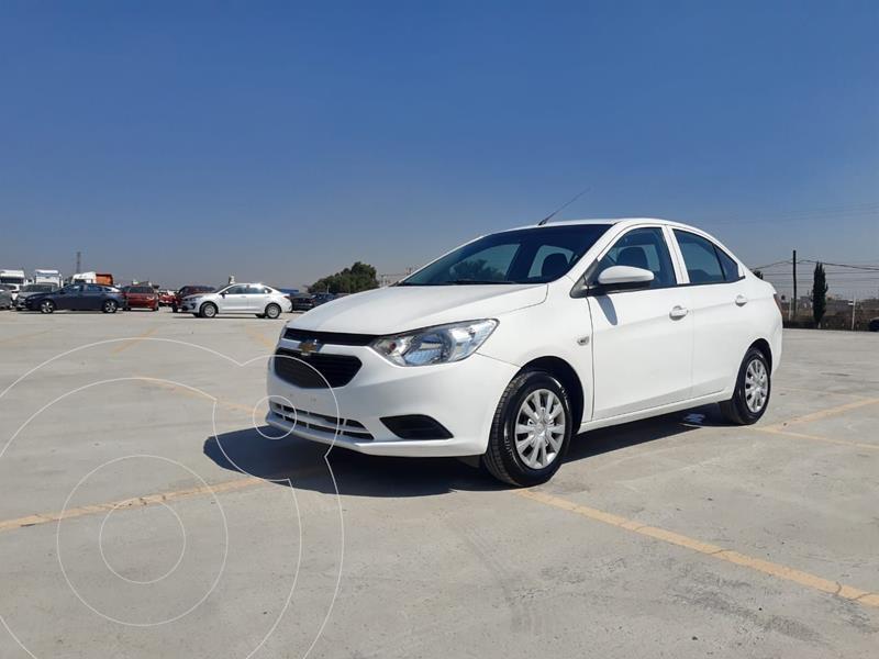 Foto Chevrolet Aveo LS Aa usado (2018) color Blanco precio $153,000