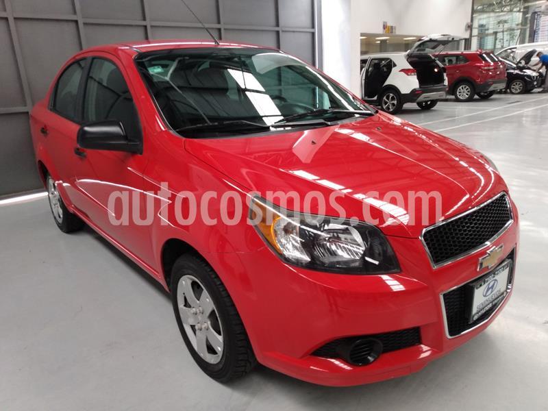 Chevrolet Aveo LS usado (2017) color Rojo precio $128,900