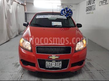 Chevrolet Aveo LS Aa usado (2016) color Rojo Victoria precio $115,000