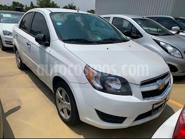 Foto Chevrolet Aveo LT usado (2018) color Blanco precio $165,000