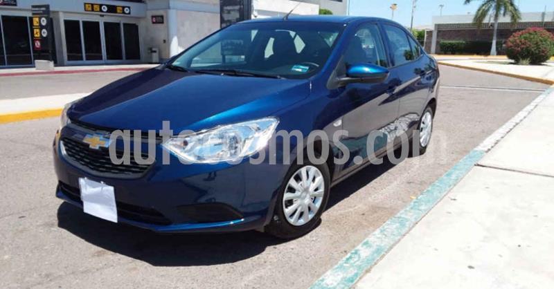 Chevrolet Aveo Paq B usado (2020) color Azul precio $179,900