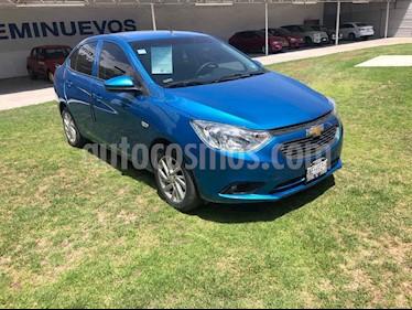 Chevrolet Aveo 4p LT L4/1.6 Man usado (2018) color Azul precio $180,000