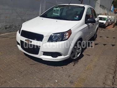 Chevrolet Aveo 4P LS TM5 A/AC. R-14 usado (2017) color Blanco precio $145,000