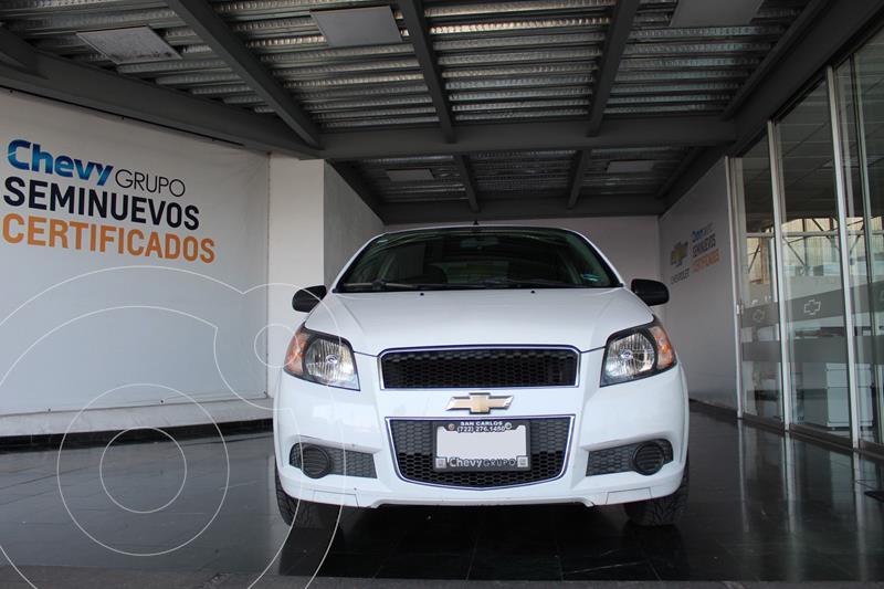 Chevrolet Aveo LT Aut usado (2016) color Blanco precio $135,000