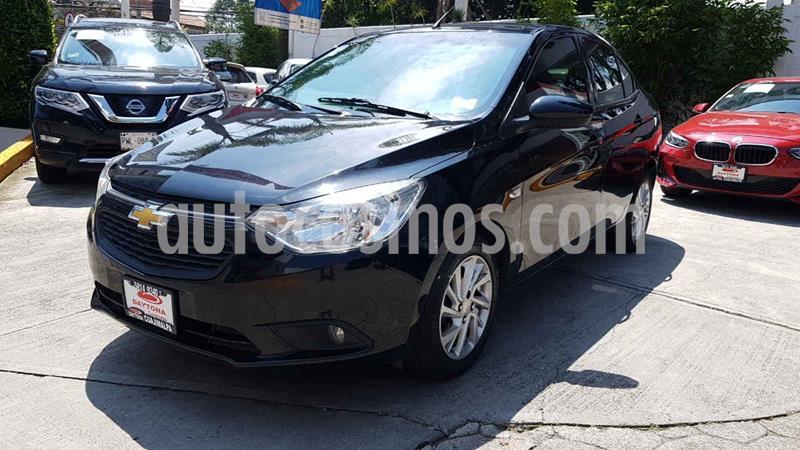 Chevrolet Aveo LT usado (2018) color Negro precio $166,000