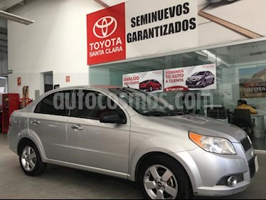 Chevrolet Aveo 4P LT AT A/AC. VE CD BLUETOOTH R-15 usado (2012) color Plata precio $80,000