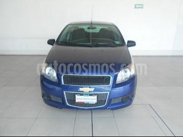 Chevrolet Aveo 4P LT L4/1.6 MAN ABS usado (2016) color Azul precio $135,000