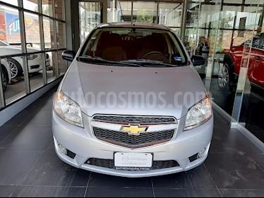 Chevrolet Aveo LTZ usado (2017) color Plata precio $148,000
