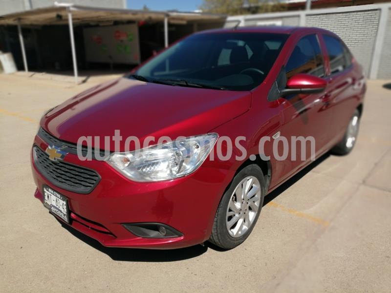 Chevrolet Aveo LT Aut usado (2018) color Rojo precio $159,000