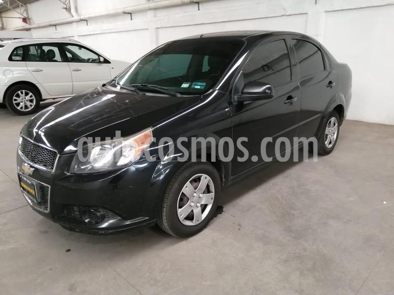 Chevrolet Aveo LS usado (2014) color Negro precio $95,000