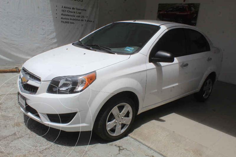 Foto Chevrolet Aveo LT Aut usado (2017) color Blanco precio $149,000