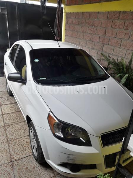 Chevrolet Aveo LS Aut usado (2015) color Blanco precio $95,000
