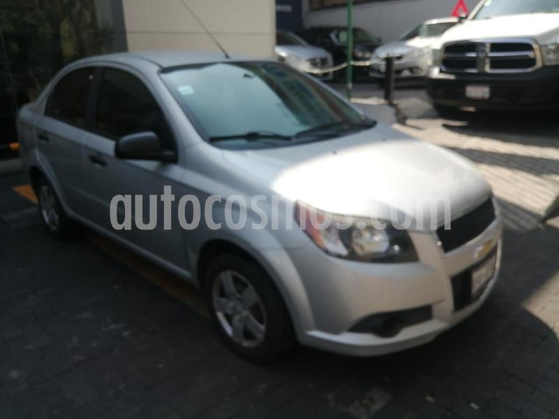 Chevrolet Aveo LS Aa usado (2016) color Plata Dorado precio $113,300
