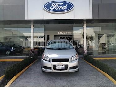 Chevrolet Aveo LS, AUTOMATICO CON A/A, CON RADIO usado (2015) color Plata precio $92,000
