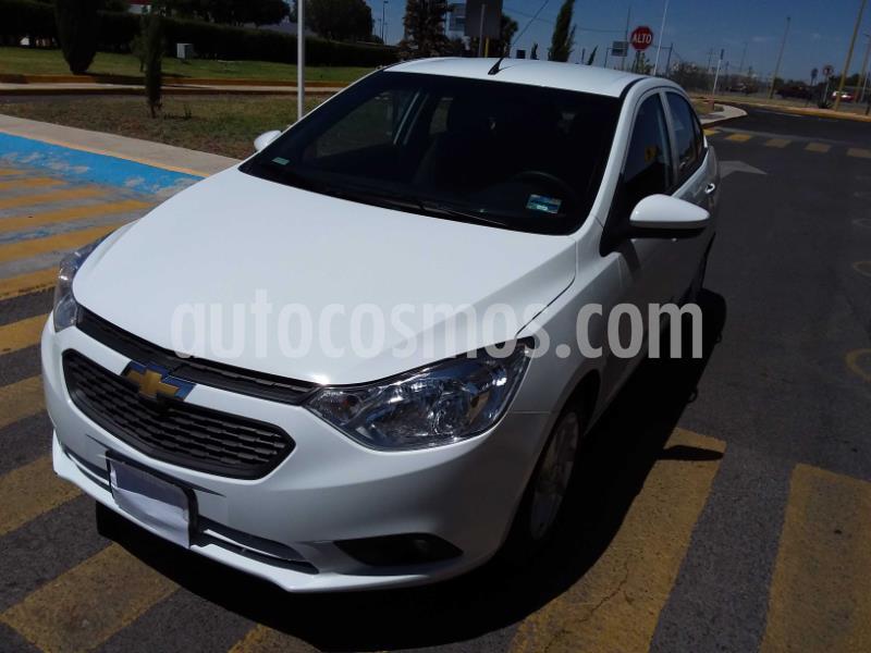 Chevrolet Aveo Paq D usado (2020) color Blanco precio $186,900