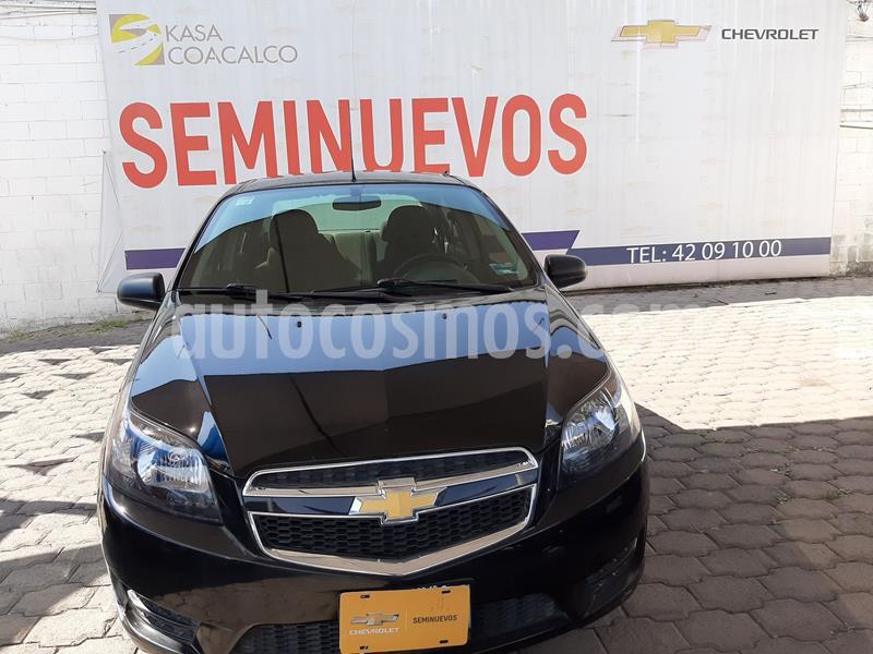Chevrolet Aveo LT usado (2017) color Negro precio $143,000
