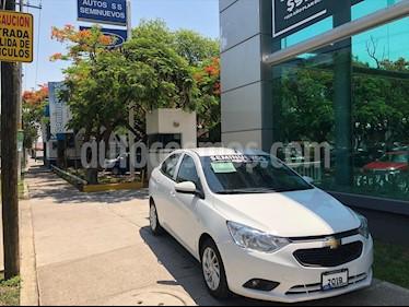 Chevrolet Aveo LT Aut usado (2019) color Blanco precio $185,000