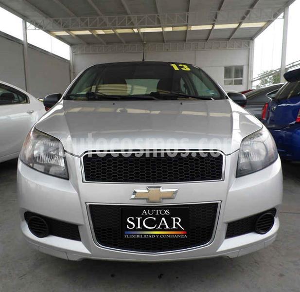Chevrolet Aveo LS Aut usado (2013) color Plata precio $97,000