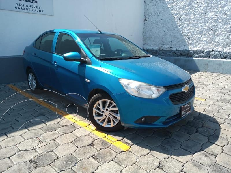 Foto Chevrolet Aveo LT usado (2018) color Azul precio $187,900