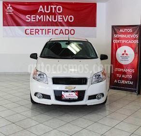 Chevrolet Aveo Paq E usado (2017) color Blanco precio $145,000