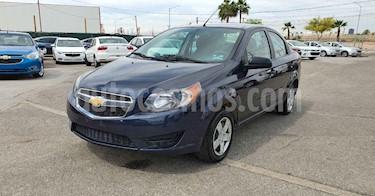 foto Chevrolet Aveo 4p LS L4/1.5 Aut usado (2018) color Azul precio $119,800