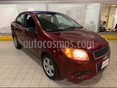 Foto Chevrolet Aveo LS Aut usado (2013) color Rojo precio $105,000