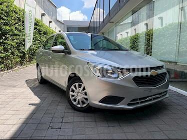 Chevrolet Aveo LT Aut usado (2018) color Plata precio $145,000