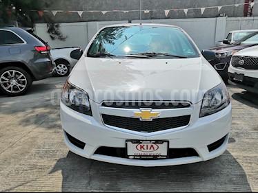 Chevrolet Aveo LS Aut usado (2018) color Blanco precio $150,000