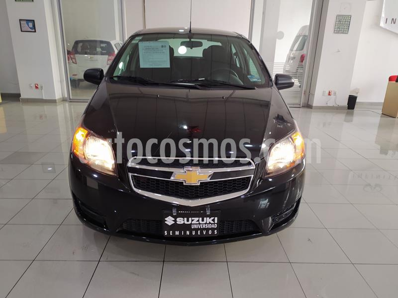Chevrolet Aveo LT usado (2017) color Negro precio $133,000