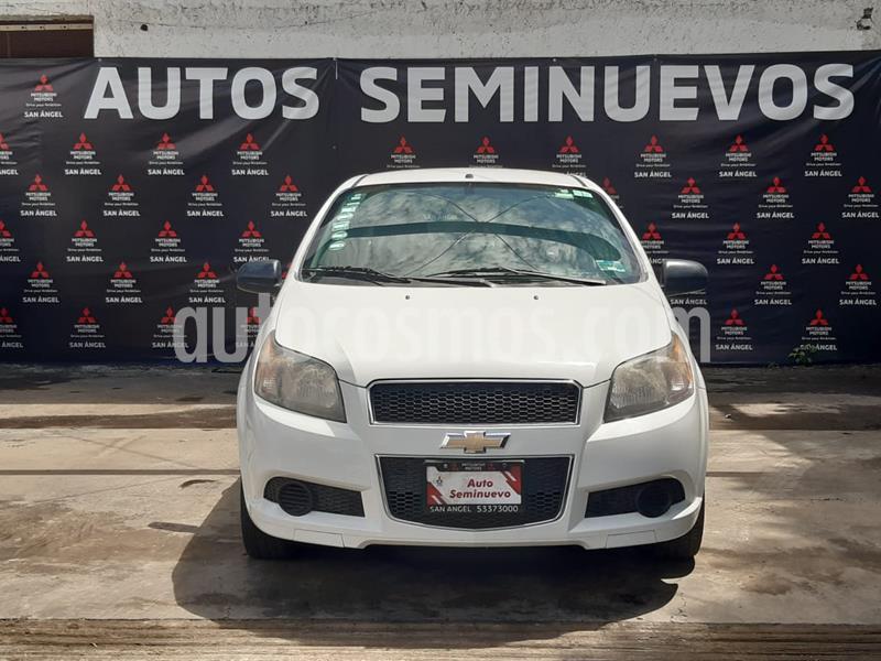 Chevrolet Aveo Paq M usado (2014) color Blanco precio $89,000