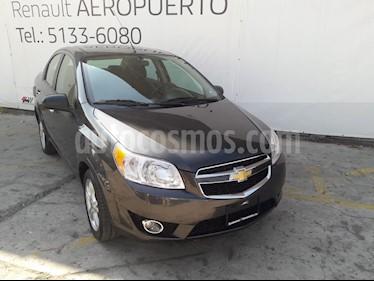 Chevrolet Aveo LTZ usado (2017) color Gris precio $178,000