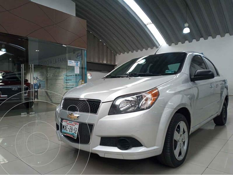 Chevrolet Aveo LT Aut usado (2016) color Plata precio $125,000