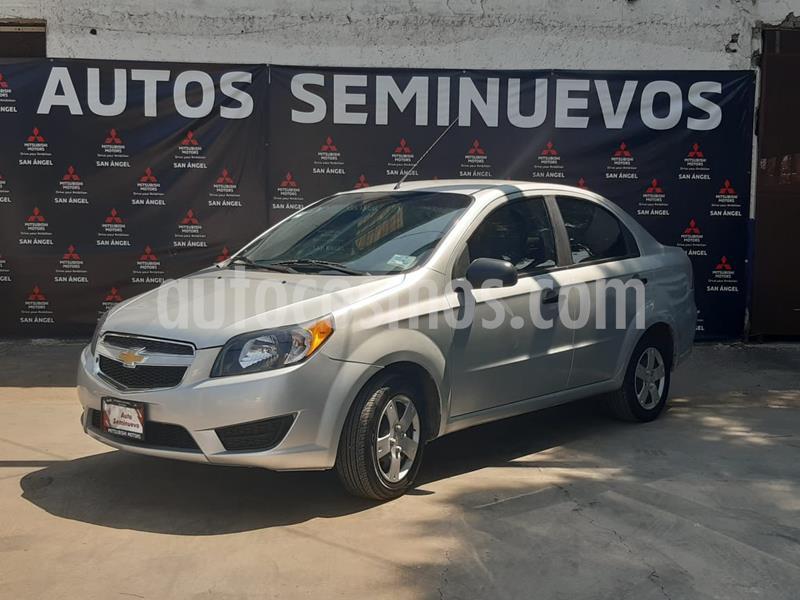 Chevrolet Aveo LS usado (2018) color Plata Brillante precio $125,000