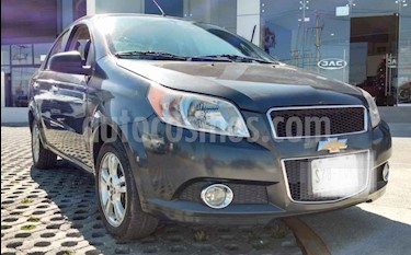 Chevrolet Aveo LTZ Aut usado (2015) color Gris precio $120,000