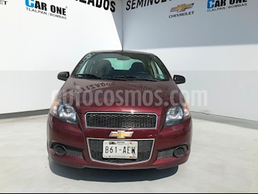 Foto Chevrolet Aveo LTZ usado (2016) color Rojo precio $125,000