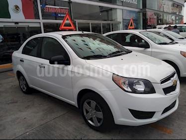 Chevrolet Aveo LS Aut usado (2016) color Blanco precio $145,000
