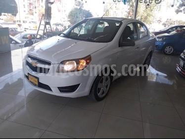 Chevrolet Aveo 4P LT L4/1.6 AUT usado (2018) color Blanco precio $147,000
