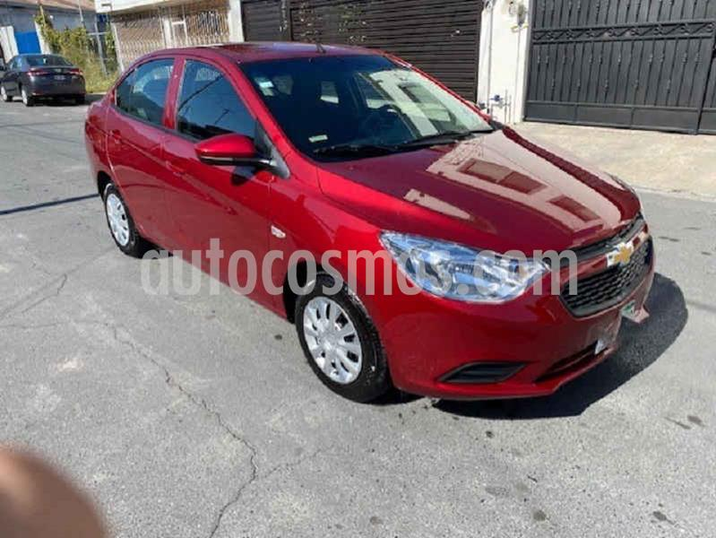 Chevrolet Aveo Paq F usado (2020) color Vino Tinto precio $218,000