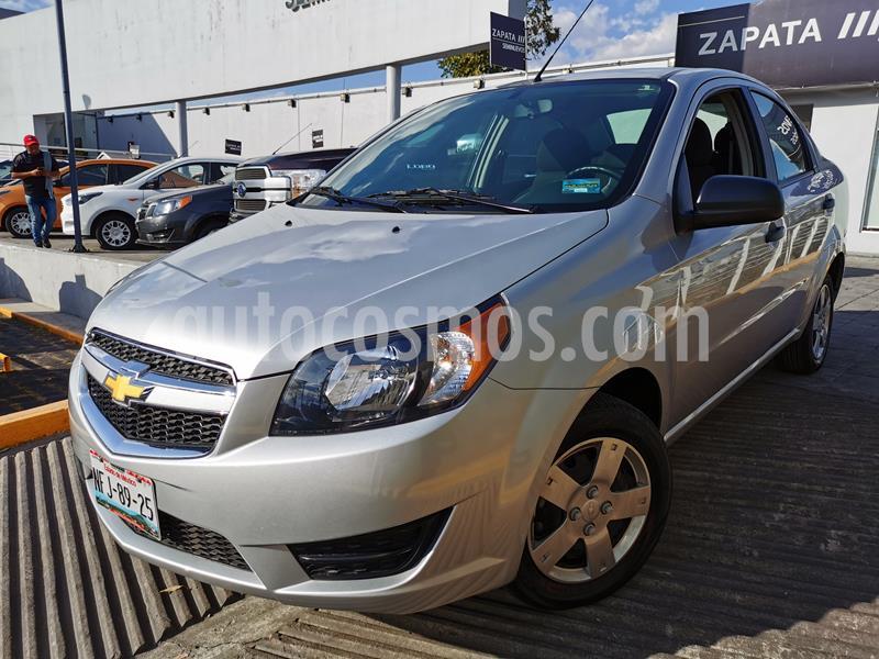 Foto Chevrolet Aveo LS usado (2018) color Plata Brillante precio $150,000