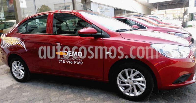 Chevrolet Aveo Paq C usado (2020) color Vino Tinto precio $212,300