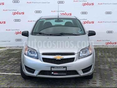 Chevrolet Aveo LT (Nuevo) usado (2017) color Plata precio $144,010