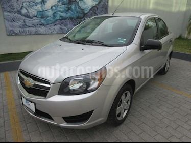 Foto Chevrolet Aveo LS Aa usado (2018) color Plata precio $154,900