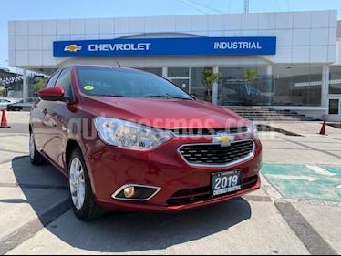 Chevrolet Aveo Paq F usado (2019) color Rojo Merlot precio $205,000
