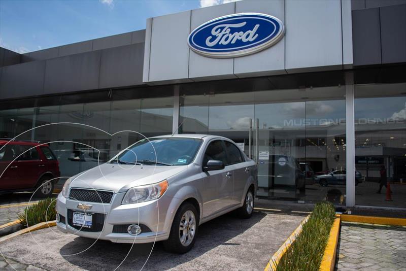 Foto Chevrolet Aveo LTZ usado (2015) color Plata precio $116,000