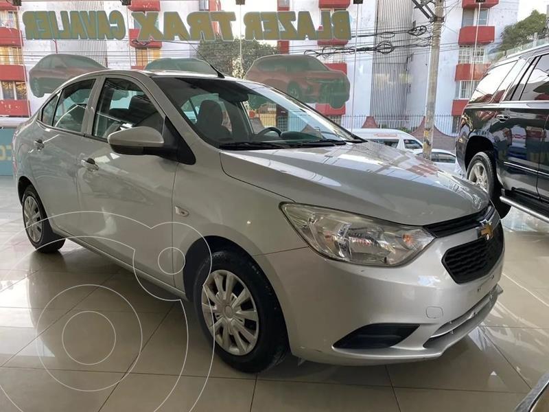 Chevrolet Aveo LS Aa usado (2018) color Plata Dorado precio $159,900