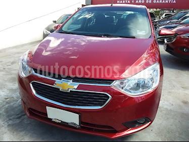Chevrolet Aveo LT usado (2020) color Rojo Cerezo precio $195,000