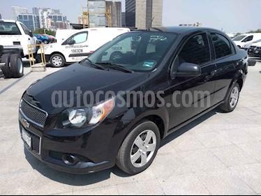 Chevrolet Aveo 4 pts. M usado (2013) color Negro precio $99,000