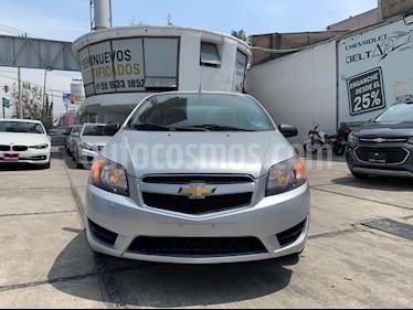 Chevrolet Aveo LS usado (2017) color Plata Brillante precio $119,900
