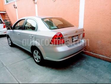 Chevrolet Aveo LS Aa usado (2014) color Plata precio $89,000