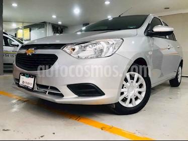 Chevrolet Aveo 4p LS L4/1.6 Man usado (2018) color Plata precio $164,000